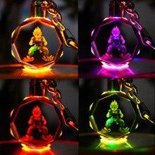 Dragon Ball Z Crystal Ball Led Key Rings