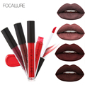 1Pc Tint Liquid Matte Lipstick Make up Multi Colors Lip Paint Waterproof Long-Lasting Balm Makeup Sexy Lipstick FOCALLURE Brand
