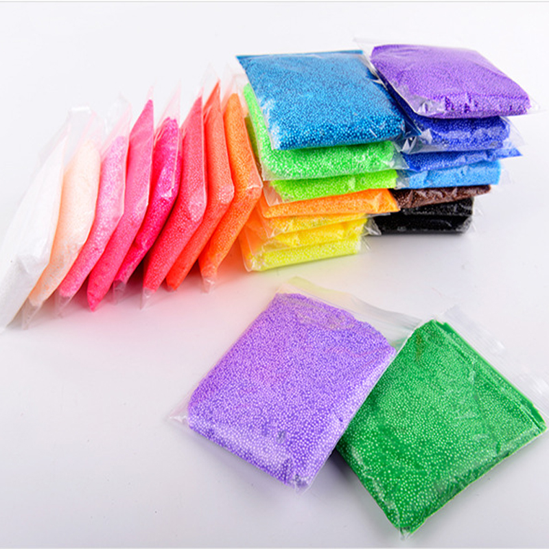 With tool super light diy craft snow polymer clay 20g 24 colors non toxic colored play