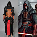 Star Wars Darth Revan Black Cape Cloak Cosplay Costume Halloween Outfit For Man