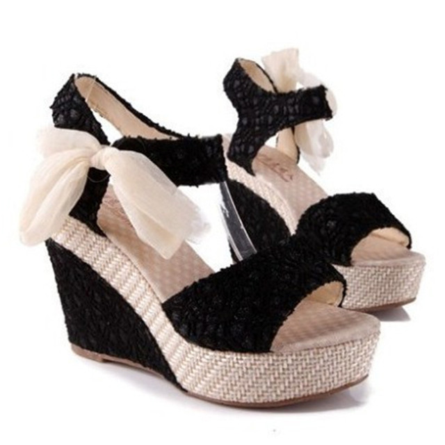 New Open Toe Wedge Sandals