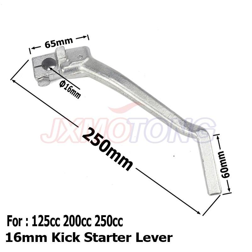 16mm Kick Starter Lever For 140 150 160cc YX YCF SDG SSR Thumpstar Pit Dirt Bike