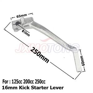 16mm Kick Starter Lever Start For Lifan YX Lifan YX Pit Dirt Bike CB/CG 200cc 250cc Thumpstar Motocross Parts(China)