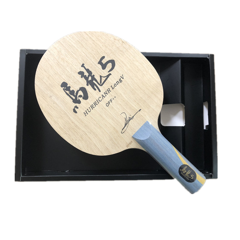 Image 4 - Hurricane Long Table Tennis Blade table tennis racket pingpong racket FL finished table tennis bats long handle shakehand racket-in Table Tennis Rackets from Sports & Entertainment