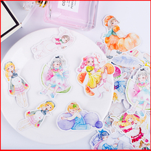 28 pcs Sweet girl personalized scrapbook Stickers scrapbooking material sticker happy planner decoration craft