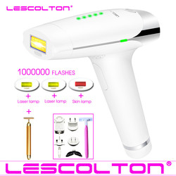 Lescolton 1000000 Times Laser Hair Removal Machine For Body Face Bikini Women Permanent Safety IPL Depilatory Shaver Tool