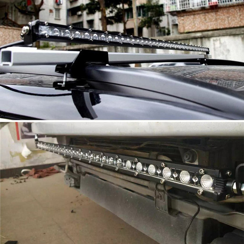 High power Led bar Car bumper roof headlight Offroad truck Spot ...