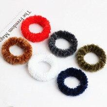 Фотография 100pcs/lot DIY Jewelry Findings Plush Circle Charm DIY Wholesale Charm Pendants Earring Accesorries