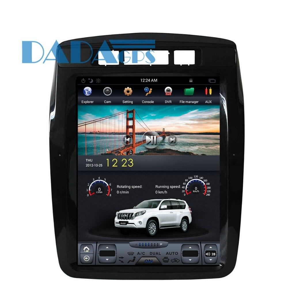 Tesla style Car DVD GPS Navigation For VW Volkswagen Touareg 2010 2017 multimedia 1 din radio