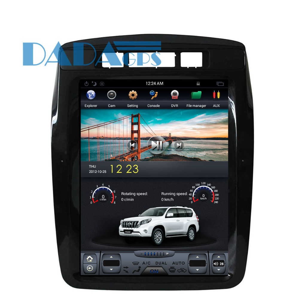 Tesla style Car DVD GPS Navigation For VW Volkswagen Touareg 2010-2017 multimedia 1 din radio 10.4 inch Android tape recorder image