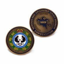 Low Price Colored Navy Souvenir Coins Custom Frosted Metal OEM  coins with you LOGO