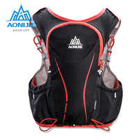 AONIJIE 5L Running Backpack Outdoor Hydration Bag Sport Backpack Super Light Water Bag Running Vest For Cycling Climbing Camping