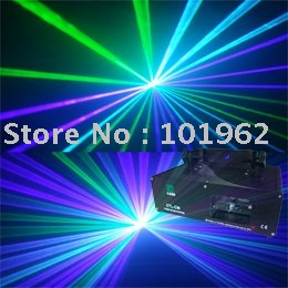 Free Shipping 150mW Green+Violet mixed blue Laser Light DMX SOUND AUTO Stage Light (CTL-GVW)
