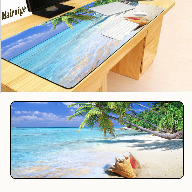 Mairuige Free Shipping 900*400*2mm Water World Fashion Art Anti - slip Computer Mouse Pad Game Large Overlock Mouse Pad