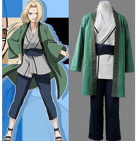 Naruto Tsunade cosplay costume Japan Anime Halloween Bodysuits Unisex Crossdressing