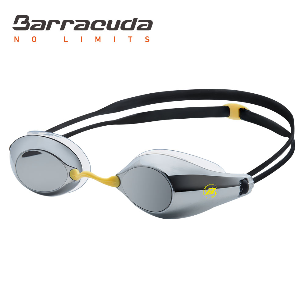 Barracuda Swimming Goggles Mirror Lenses Silicone Gaskets Anti fog UV protection Waterproof glasses for Men Women
