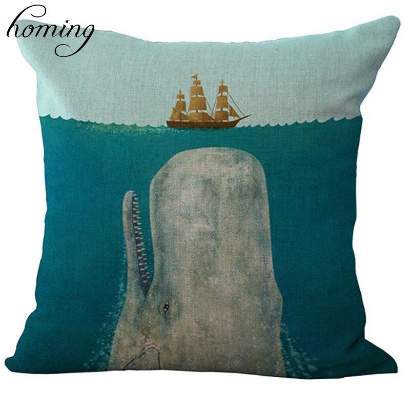 Plain Linen Cushion Cover Pattern Modern Throw Pillow Covers