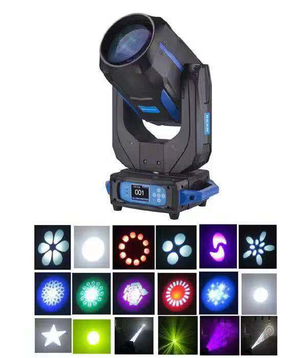 Sharpy 280w 10r beam moving head light dmx beam wash spot 3 in 1 dj stage lighting ip20 with zoom for wedding
