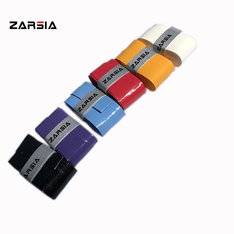 1 pc Retail ZARSIA Super thin 0.60mm PU soft tennis overgrip ,tacky sticky badminton racket over grip