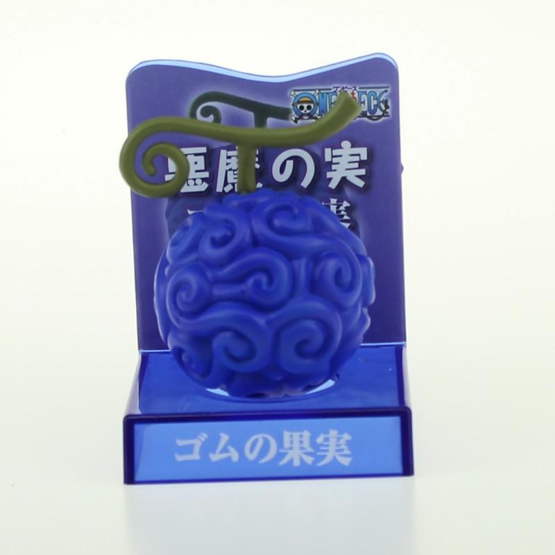 Anime One Piece Devil Fruit Action Figure Monkey D Luffy Gum-Gum Fruit Toy Gift