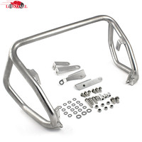 Stainless Steel Silver Lower Crash Bars Engine Guard Rail Motor Fence Bumper Protector For BMW F800GS