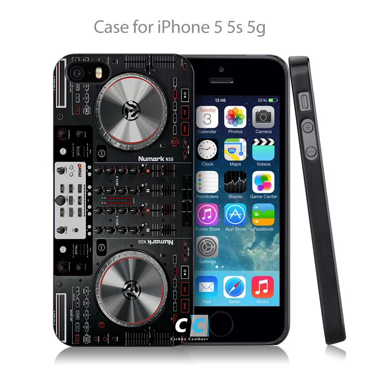 numark ns6 funny radio Music DJ Hard Black Case Cover Shell Coque for iPhone 4 4s 4g 5 5s 5g 5c 6 6g 6 Plus