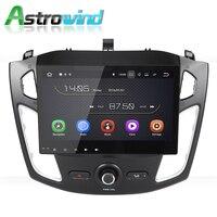 10,1 дюймов Android 8,0 Авто радио плеер стерео аудио видео gps Navigaiton Системы для Ford Focus 3 2012