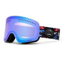 NANDN Skiing Goggles Double UV400 Anti fog Big Ski Mask Glasses Men & Women Snow Snowboarding Goggles Multifunction Ski Eyewear