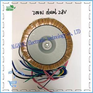 Image 3 - Peak power 120w 150w 200w 300w 500w 1600w Ring transformer toroidal Power Amplifier Transformer dual 12V 15V 17V 22V 24V 25V 30V