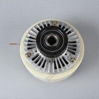 NM 20 kg DC24V eje hueco magnético polvo embrague bobinado freno para Control de tensión Impresión de embolsado máquina de teñido|Frenos de polvo magnéticos| |  -