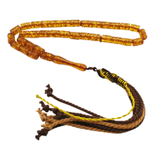 Tasbih 33 Resin Beads Islam bracelet 2 color Yellow and green Muslim rosary