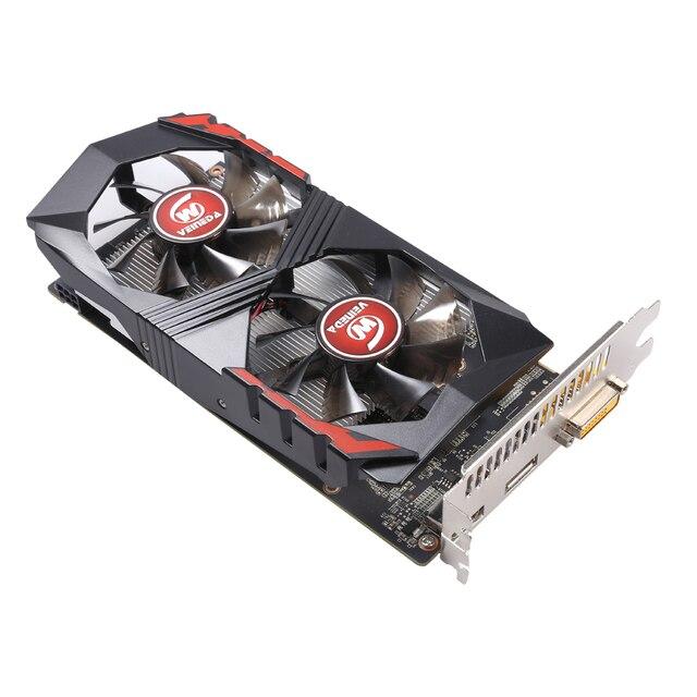 Placa de vídeo veineda para computador placa gráfica pci-e gtx1050ti gpu 4g ddr5 para nvidia geforce jogo 4