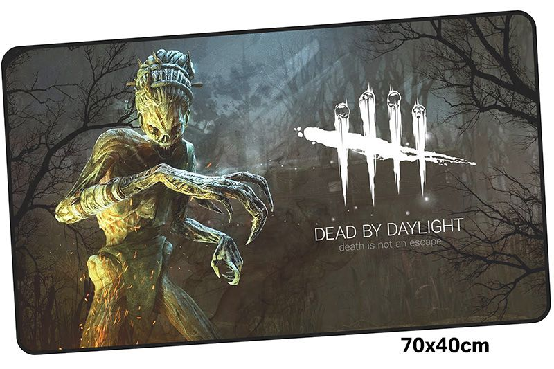 dead by daylight mousepad gamer 700x400MM gaming mouse pad large HD print notebook pc accessories laptop padmouse ergonomic mat