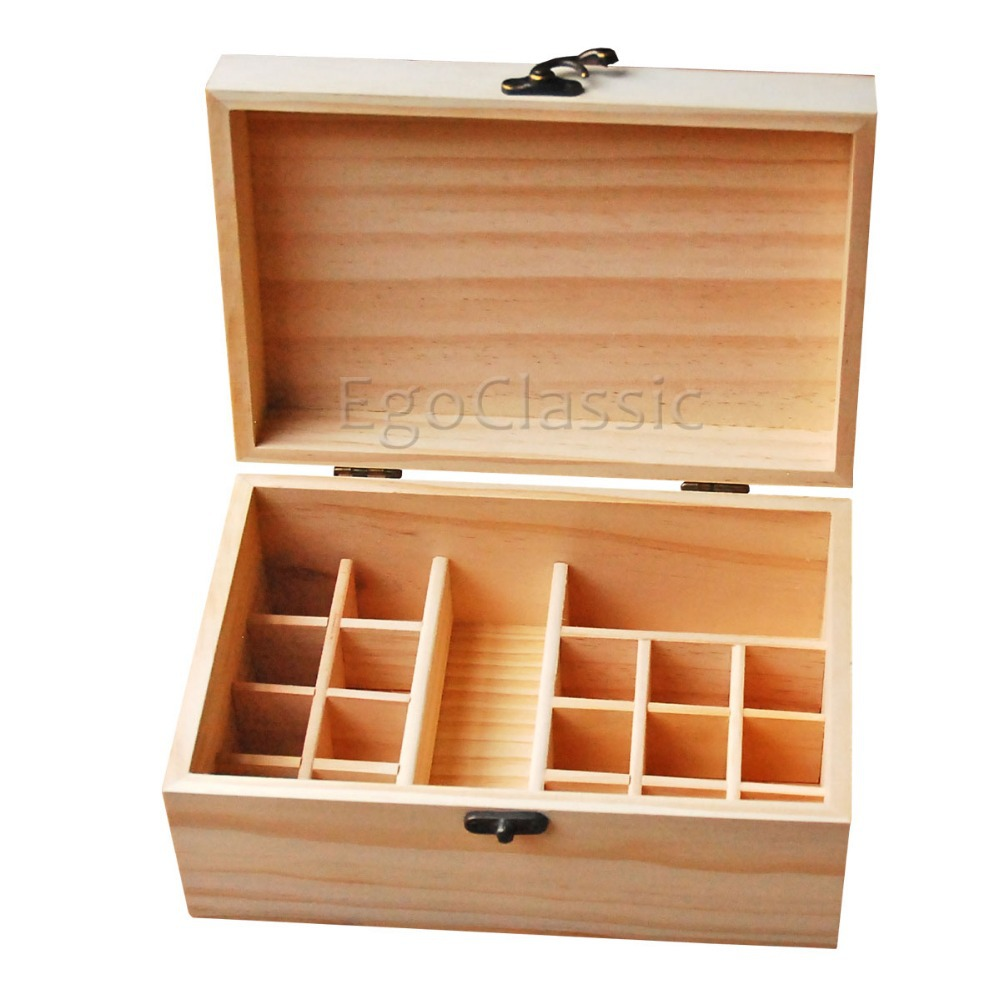 New Design Wooden Essential Oils Storage Box Multifunction