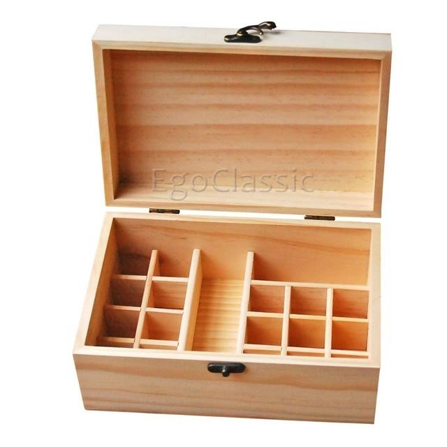 New Design wooden Essential Oils Storage Box Multifunction