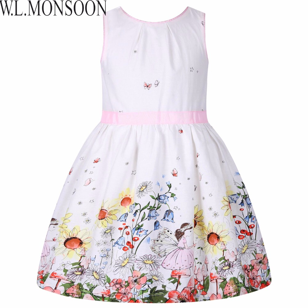 Girls Dress Summer 2018 Brand Children Dress Princess Costume Robe Enfant Fille Flower Kids Clothes Party Dress Baby Clothes girls summer dress kids clothes 2017 brand baby girl dress with flower robe fille princess dress children clothing