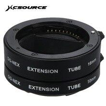 Аф макро Удлинитель Набор Автофокус DG набор 10 мм 16 мм объектив адаптер для Sony E A6000 A5000 NEX-5R NEX-3N C3 LF434