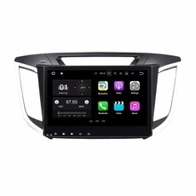 2GB RAM Quad core 10 1 Android 7 1 Car DVD Player for Hyundai IX25 CRETA