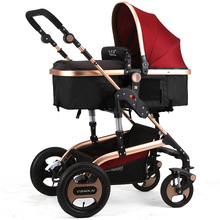 Baby stroller baby car bb baby stroller light folding child cart shock absorbers ultra light folding rainbow umbrella infant stroller car shock absorbers four wheels baby stroller baby carriage pram