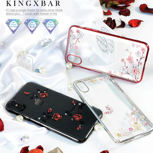 Image 3 - Kingxbar KAVARO Rhinestones מקרה עבור Apple iPhone X/ XS/ XS מקס/XR מקרי יהלומי גבישי אלמנט כיסוי עבור iPhone XS מקסימום מקרה