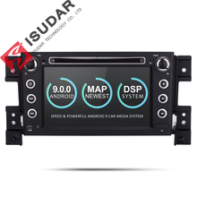 Isudar Autoradio For SUZUKI Grand Vitara font b Car b font Multimedia player Android 9 2