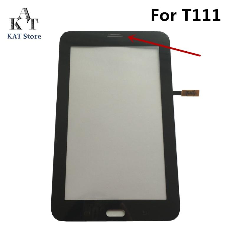 Для Samsung Galaxy Tab 3 Lite 7,0 SM-T110 T111 T113 T114 T113NU T116 сенсорный экран дигитайзер внешнее стекло объектив Замена + Инструменты