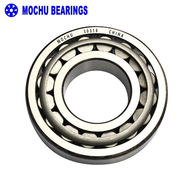 1pcs Bearing 30316 80x170x42.5 30316-A 30316J2 7316E Cone + Cup High Quality Single Row Tapered Roller Bearings чехол samsung jelly cover j3 2017 gold