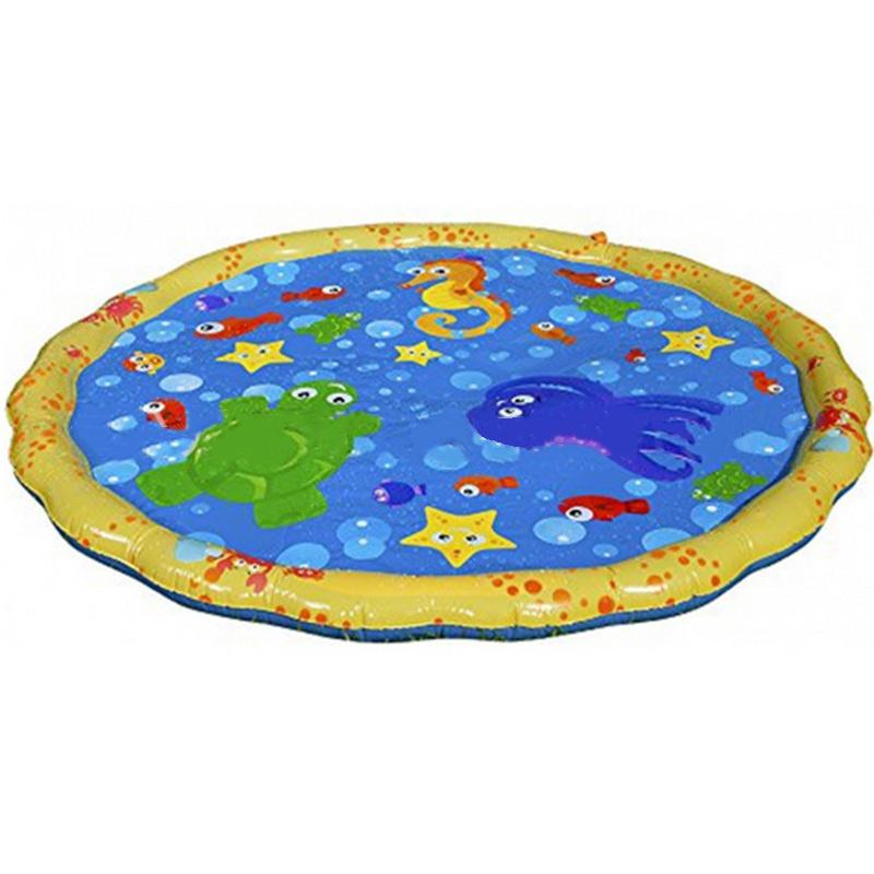 Inflatable Baby Water Sprinkle Play Mat Home Swimming Pool