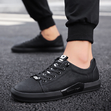 2018 New Arrival Spring Autumn Hot Casual Shoes Men Leather Light Youth Trend Fashion British Style Mens Sneakers  3