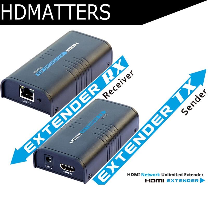 LKV373 HDMI extender to 120M HDMI TCP/IP compliant( sender&receivers included) аксессуар palmexx hdmi 120m px ext hdmi 120m