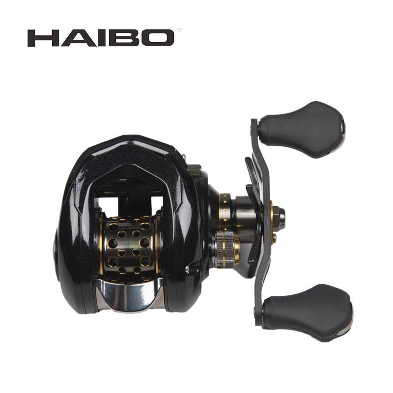 Habibo Mirage Baitcasting Fishing Reel 50 51HMS 8 0 1 Ultra light Reel 164g Magnetic Brake