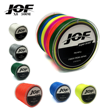 2pcs JOF 8 Strands Weaves 500M Extreme Strong Japan Multifilament PE 8 Braided Fishing Line