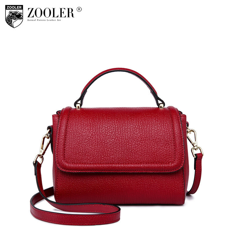 HOT!real leather shoulder bag ZOOLER genuine leather bag top handle cowhide bags woman handbag 2018 bolsa feminina #5202 sales zooler brand genuine leather bag shoulder bags handbag luxury top women bag trapeze 2018 new bolsa feminina b115