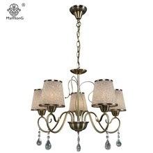 Neue Kristall Anhnger Lampe Fr Schlafzimmer Wohnzimmer Glas Leuchtet 5 Kpfe Kronleuchter Leuchte Hause Beleuchtung Vintage An